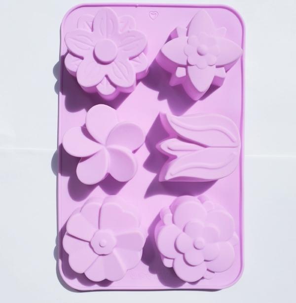 matrita sapun flori